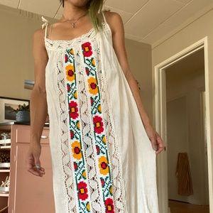 Mexican Boho Maxi Dress